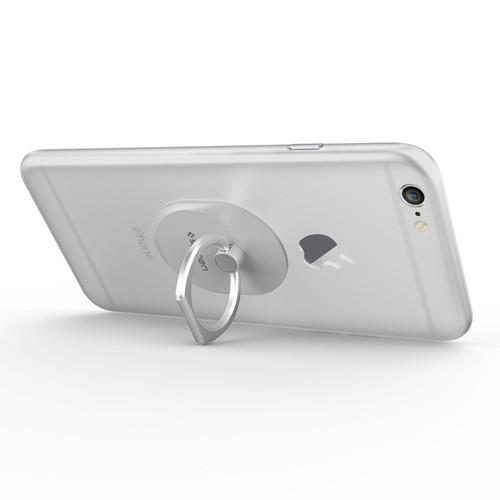 Spigen Smartphone Style Ring - White/Silver