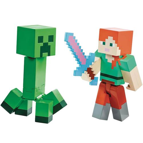 "Mattel Minecraft 5"""" Survival Mode Figure"" 12K-766-DNH08"