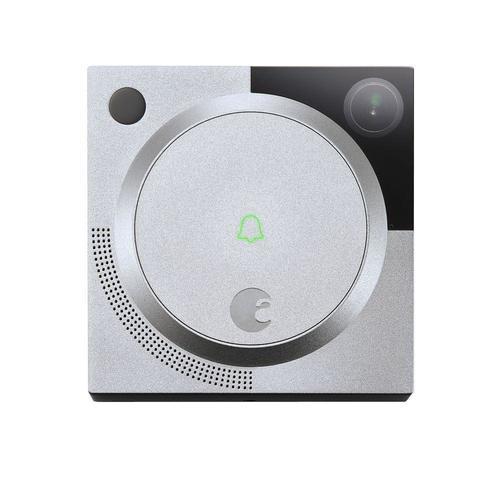 August 1.2MP Wireless Doorbell Camera - Silver