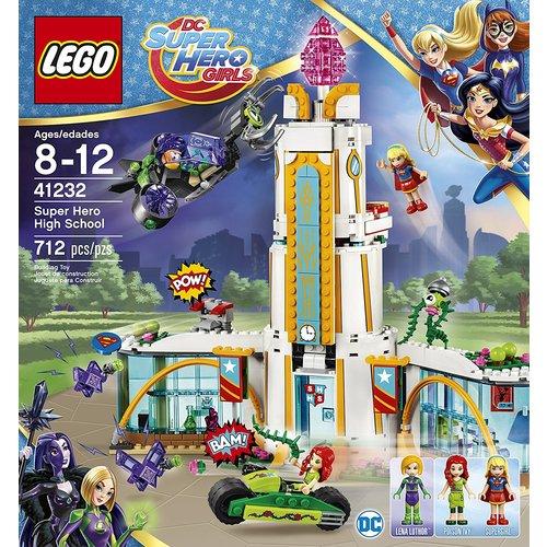 Lego Super Hero Girls Super Hero High School 12L-P67-41232