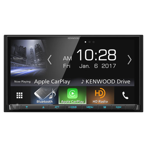 """Kenwood DMX7704S 7"""""""" Digital Mech-Less Multimedia Receiver with Bluetooth and HD Radio"""" 09T-B14-DMX7704S"""