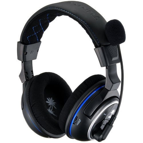 Turtle Beach Playstation 4 Ear Force PX4 Wireless Dolby Surround Sound Gaming Headset - Black 08W-G58-TBS3276/011