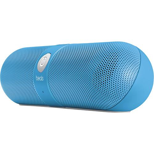 Beats by Dr. Dre Pill Portable Stereo Speaker - Neon Blue