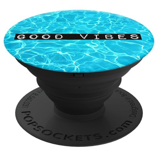 PopSockets Universal All Smartphones and Tablets Expanding Stand and Grip - Good Vibes