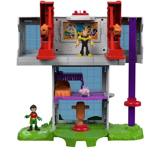 Fisher-Price Imaginext Teen Titans Go Tower Playset 12K-797-DTM81