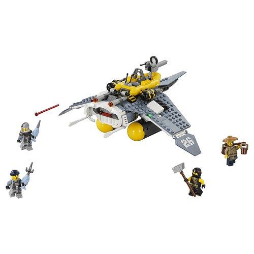 Lego Ninjago Manta Ray Bomber 341-Piece Building Kit 12L-P67-70609