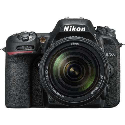Nikon D7500 DSLR 20.9 Megapixel Camera with 18-140mm f/3.5-5.6G ED VR Lens for DX Format