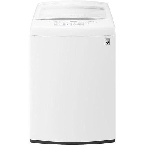 LG WT1501CW 4.5 Cu. Ft. Ultra Large Capacity Top Load Washer with Front Control Design- White 52B-285-WT1501CW