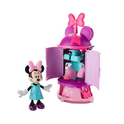Fisher-Price Disney Minnie Mouse Minnie's Turnstyler Fashion Closet Doll 12D-797-DTR97