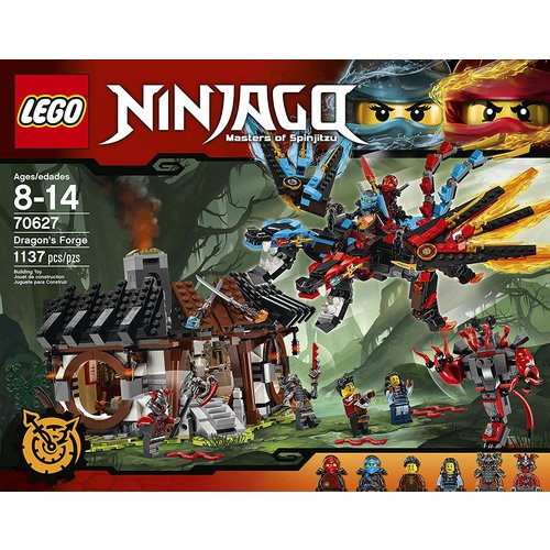 Lego Ninjago Dragon's Forge