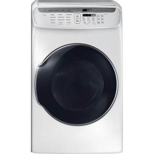 Samsung DVE55M9600W 7.5 Cu. Ft. FlexDry Electric Dryer with Wi-Fi Connectivity - White 53I-863-DVE55M9600W