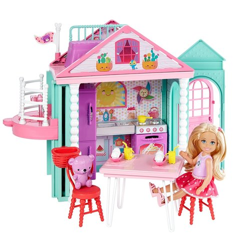 Barbie Club Chelsea Playhouse Playset 12D-766-DWJ50
