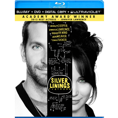 Silver Linings Playbook - DVD + Blu-ray +Digital Copy 36D-G30-ANBBR59723