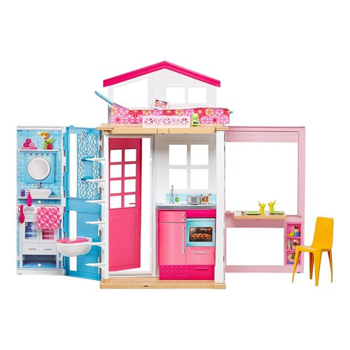 Barbie 2-Story House Playset<br><br>