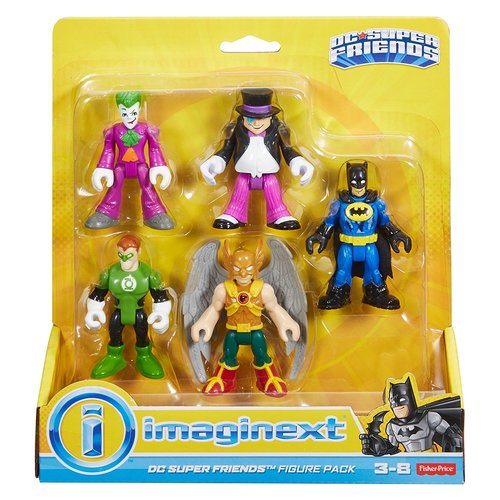 Fisher Price DC Super Friends Imaginext Action Figure Case - Assortments 12K-797-DTP69