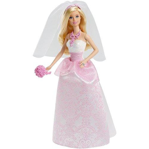 Barbie Bride Doll - Pink 12D-766-CFF37