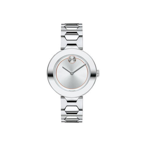 Movado Women's Bold Round Silver Dial Swiss