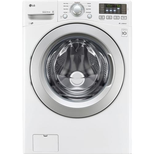 LG WM3270CW 4.5-Cu.Ft. Front-Load High-Efficiency Washer with Cold Wash Technology - White 52B-285-WM3270CW