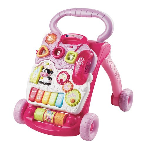 VTech Sit-to-Stand Learning Walker Toy - Pink