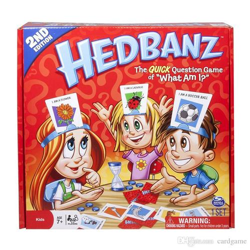 Spin Master Hedbanz Family Board Game
