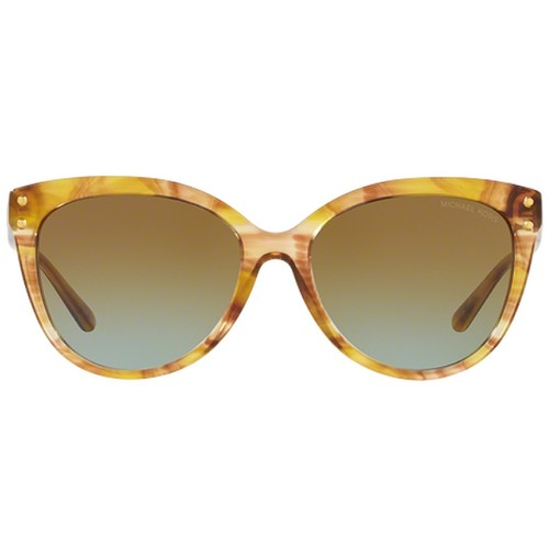 Michael Kors MK2045 Jan Women's Sunglasses - Yellow Floral/Amber Blue Gradient 67Q-G65-MK2045323655