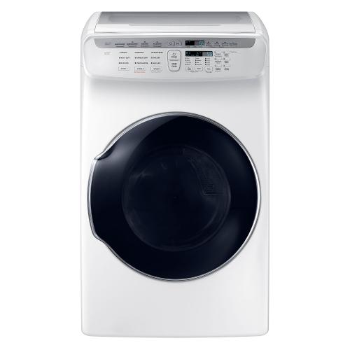 Samsung DVG55M9600W 7.5 cu. ft. capacity FlexDry Dryer - White 53L-863-DVG55M9600W