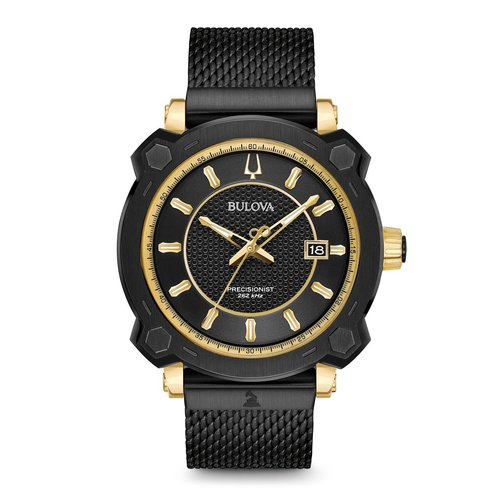 Bulova Men's Special Grammy Edition Precisionist Wrist Watch - Black