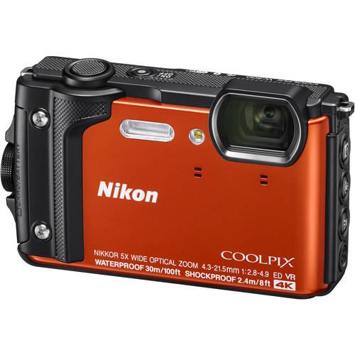 Nikon COOLPIXW300 / 16 Megapixel / 5x Optical Zoom Digital Camera - Orange