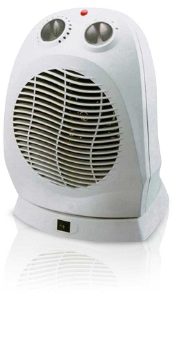 Portable Heater with fan-Grey
