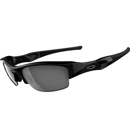 Oakley Flak Jacket Sunglasses - Jet Black / Black Iridium