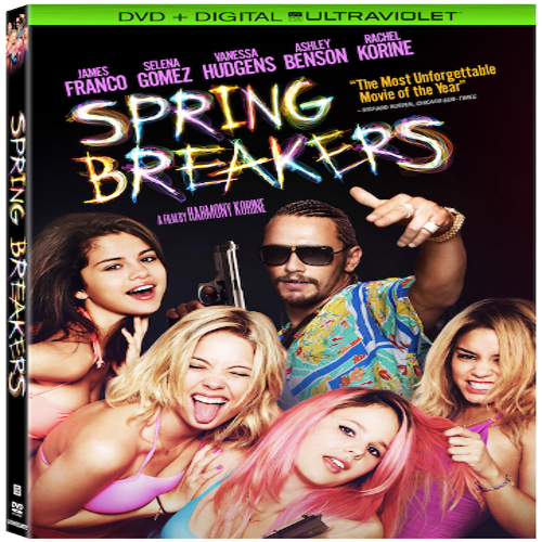 Spring Breakers - DVD + Blu-Ray + Digital + Ultraviolet 36A-G30-LGEBR43399