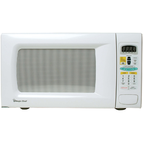 Magic Chef MCPMCD1311W 13 Cu Ft 1100 Watt Microwave Digital White