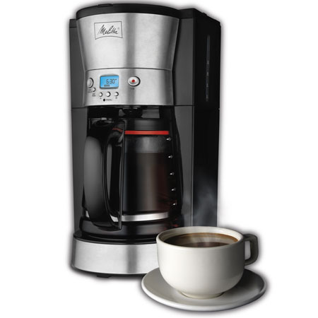 Melitta 12 Cup Programmable Coffeemaker 004B5O013B