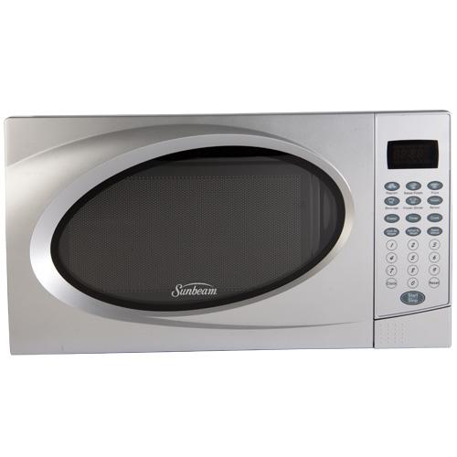 Sunbeam SGA3703 Microwave Oven 0.7 Cubic Feet Silver