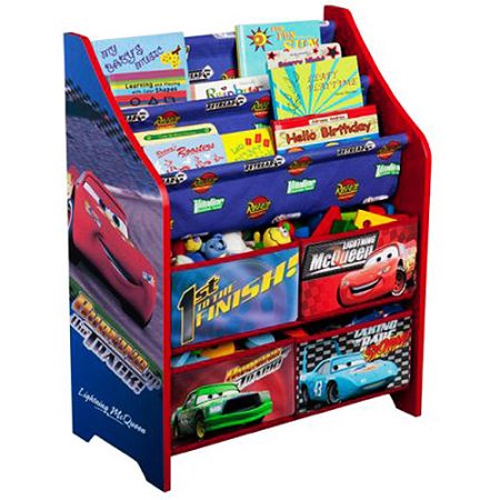 Delta Cars 3 Book & Toy Organizer 46O-G56-TB84627CR