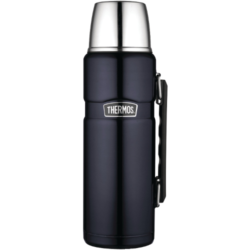 Thermos 40 oz. Vacuum Insulated King Bottle - Stainless Steel 009YZQ0267