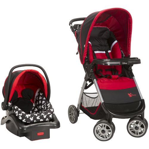 Disney Amble Travel System - Mickey Silhouette